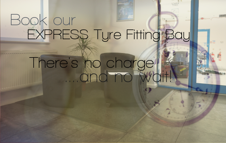 Use our express bay to be on your way in no time